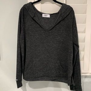 SoulCycle Long Sleeve Grey Miami Sweater